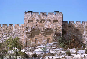 Golden Gate of Jerusalem - photo from FreeStockPhotos.com