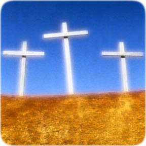 Image of 3 crosses - Copyright Jennifer Westmoreland